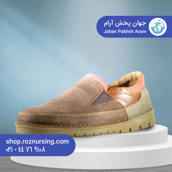 کفش طبی مردانه مجلسی مدل آرین   فروش اینترنتی کفش دکتر آس